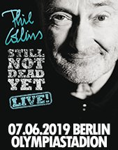 PHIL COLLINS & BAND am 07.06.2019 in Berlin, Olympiastadion